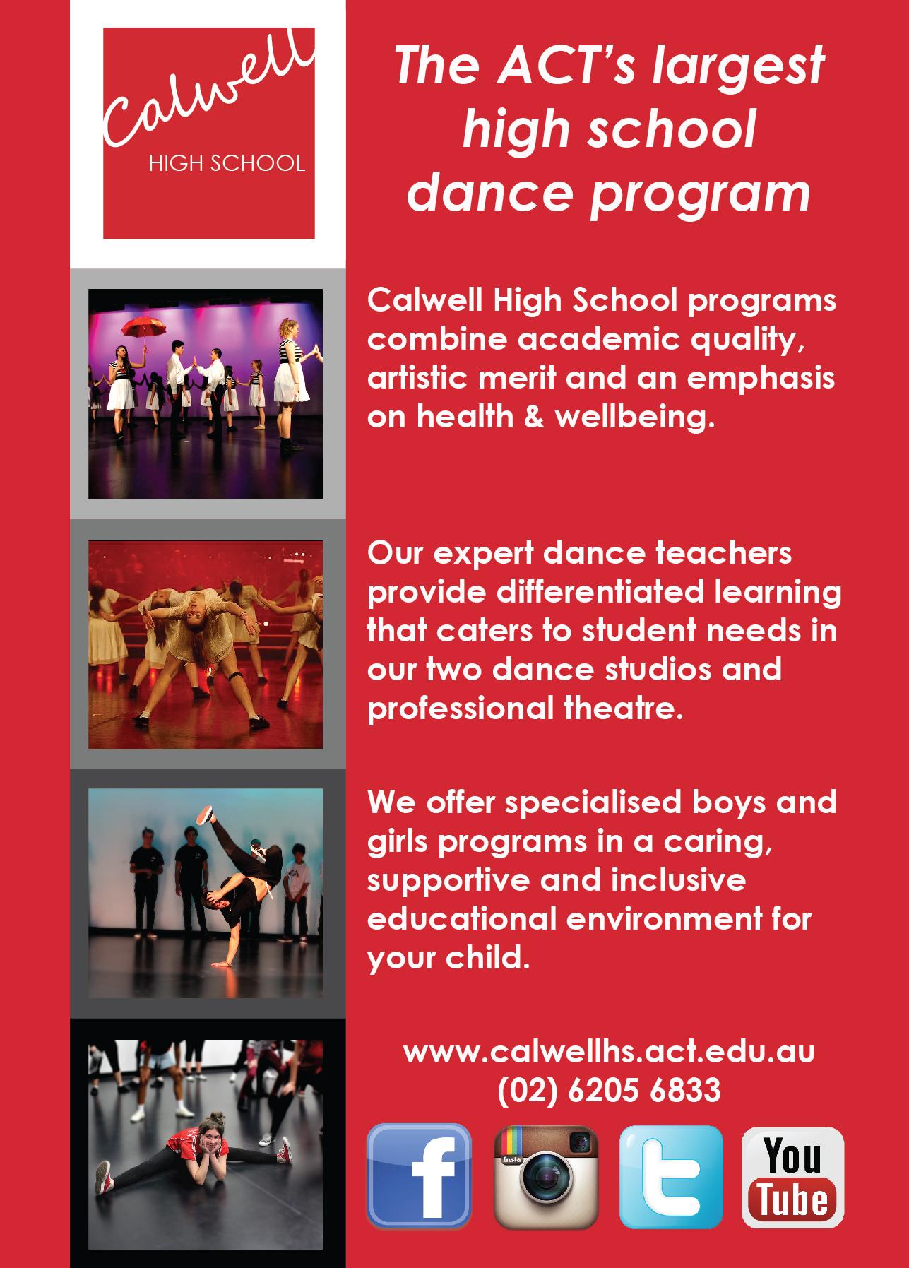 Calwell Dance Program Images