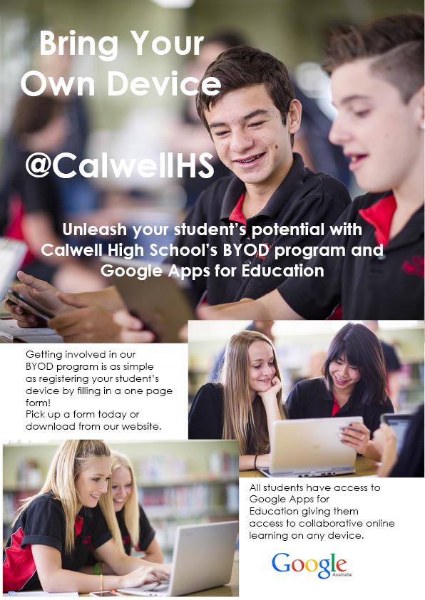 BYOD at Calwell High School