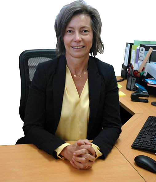Photo of principal Megan Altenburg